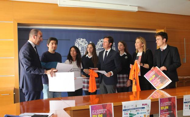El SEK Alborán presenta su carrera solidaria Run For Siyakula