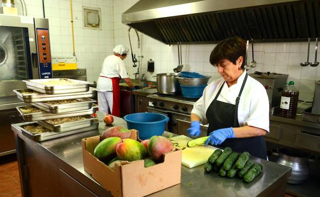 El comedor escolar más sano de Andalucía está en Granada | Ideal