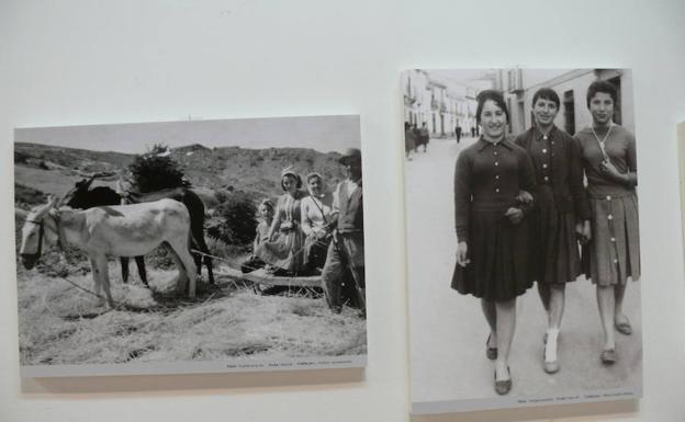 Una exposición de fotografías antiguas recrea cómo era la vida en Dúrcal hace décadas