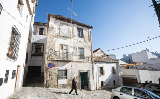 Vivienda en ruina de la Placeta Sánchez, 7.