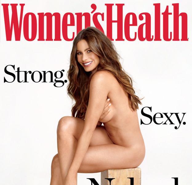 El Desnudo Integral De Sofía Vergara Para Womens Health Ideal