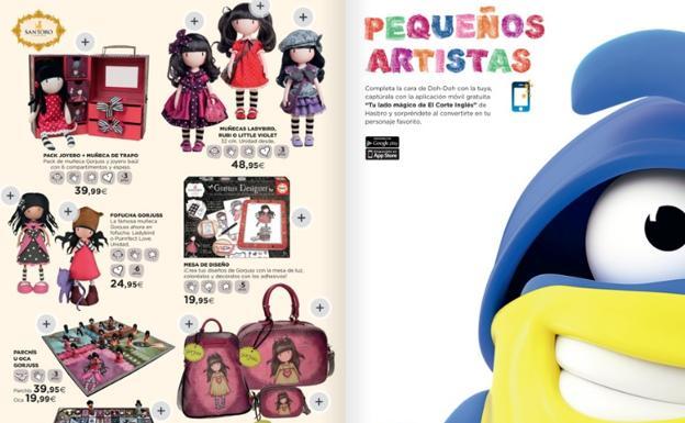 db7a2dd9841f Estas son la novedades que trae el catálogo de juguetes de El Corte ...