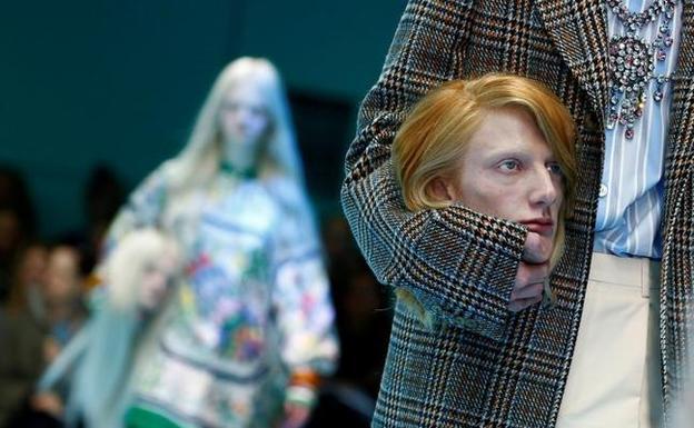 El  terrorífico  desfile de Gucci que sorprende al mundo  12402f5de14