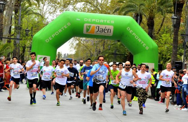Linares apoya el 'Run for Parkinson'