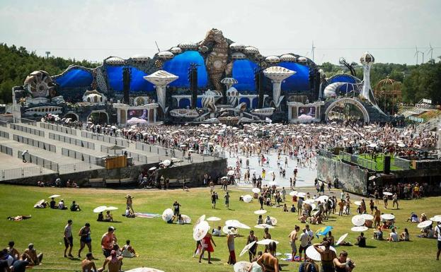 Vista del festival Tomorrowland. /AFP