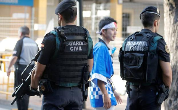Agentes de la Guardia Civil./Efe