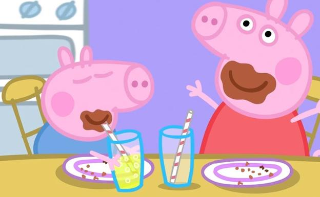 No pongas Peppa Pig en el bar