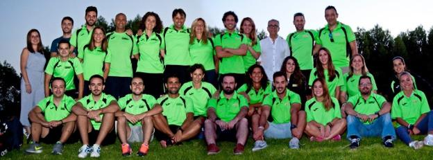 Integrantes del Club Natación Máster Jaén./IDEAL