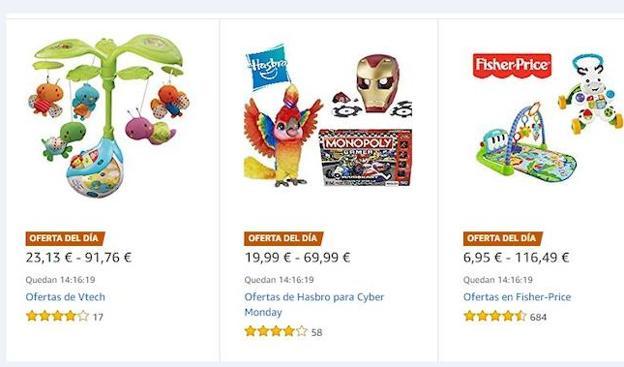 82e1b5a03e4 Las mejores ofertas de Amazon en juguetes el Cyber Monday: compra tus Reyes  ya
