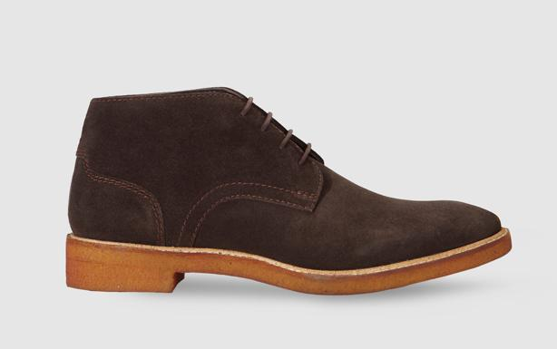 5ec94c48f94 Botas de hombre Dustin en serraje en color marrón por 29,95€ (Antes 59,99€  -50%).