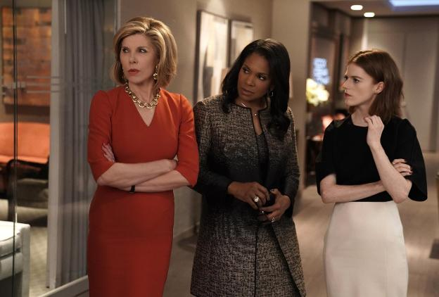 Una secuencia de 'The Good Fight'./