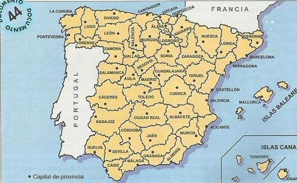 La actual provincia de Almería tiene su origen en la división de 1833/IDEAL