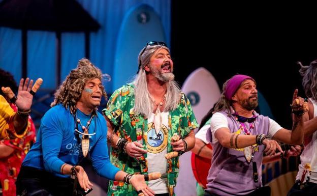 Chirigota Ganadora Del Concurso De Agrupaciones Del Carnaval De Cádiz 2020 Actuación De Los Cadizfornia En Vídeo Ideal