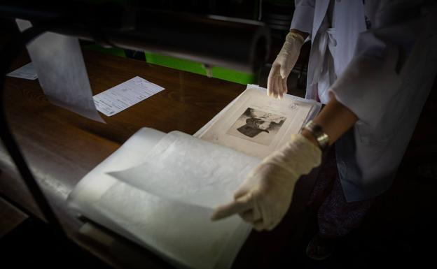Manipulado de los grabados de Goya.