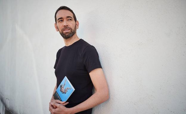 Gerardo Rodríguez Salas, finalsita por 'Anacronía'./PEPE MARÍN