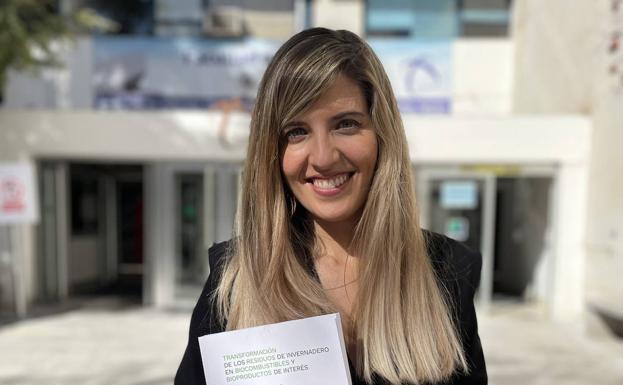Irene Iáñez, ingeniera química y profesora.
