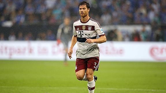 Xabi Alonso debuta en el Bayern con un empate  237b6a4837faa