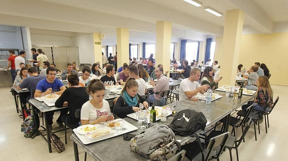 El comedor del PTS servirá menú a 3,50 euros como en el resto de ...