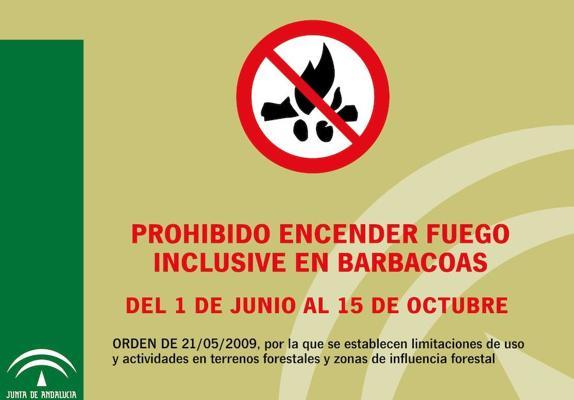 A partir del 1 de junio, prohibido hacer barbacoas